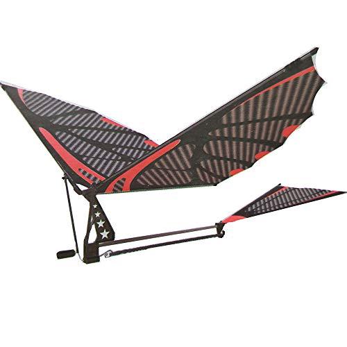 Cuasting Fibra de carbono Modelo de la Asamblea de Aviones Flapping Wing Aviones Diy Modelo Aviones Pterosaurio Banda de Caucho Bionic Aviones