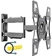 Invision Ultra Strong TV Wall Bracket Mount Single Arm Tilt & Swivel for 26-60 Inch LED LCD OLED 4K ...