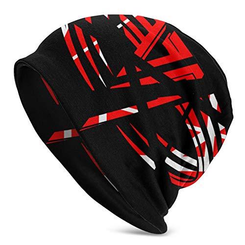 Van-Halen Unisex Adult Slouchy Knit Beanie Hat Warm Skull Cap Black