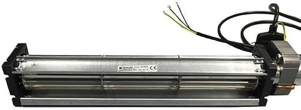 Motor Ventilador tangenziale largo 379mm 300x 35para estufas de pellets–emmevi fergas 107602