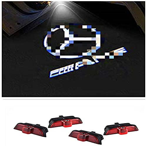 ZTMYZFSL 4 proyectores de logotipo para coche (For 4MG204)
