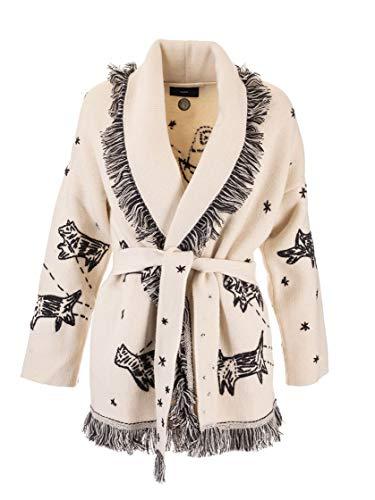 ALANUI Luxury Fashion Womens LWHB001F190010410117 White Cardigan | Fall Winter 19
