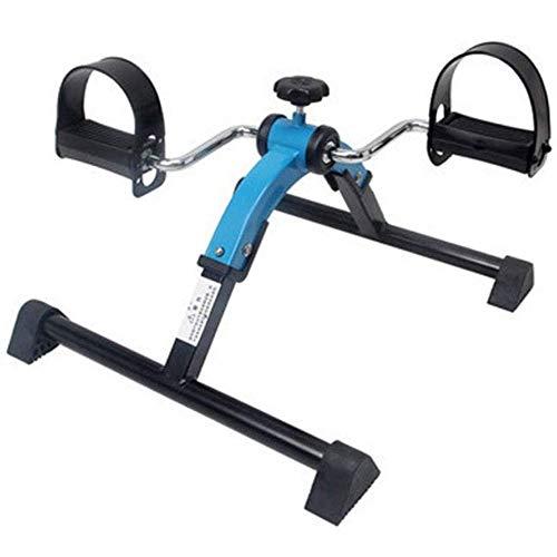 Plegable pedal del entrenador ejercicio artes de fitness en bicicleta, el brazo y la pierna dispositivo de formación de formadores, mini bici ejercitador de pedal ejercitador de piernas gimnasia de en