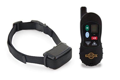 PetSafe Trekkingshalsband met vibratie + geluid en afstandsbediening, 16 trilniveaus, 100 meter bereik, honden 3,6 kg