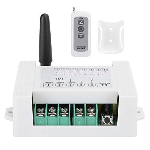 Yctze Interruptor Remoto, Interruptor de Control Positivo de Motor bidireccional, fabricación Profesional, Uso Seguro y confiable