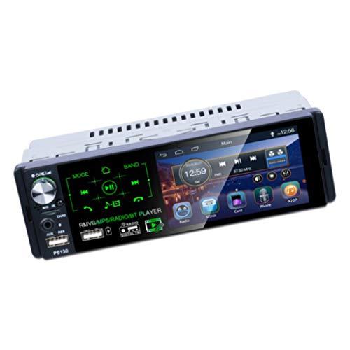 IPOTCH Bluetooth Car MP5 Player Touch HD Capacitivo - Reproductor MP5 + Cámara LED 8