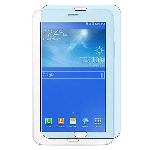 Vaxson 2 Unidades Protector de Pantalla Anti Luz Azul, compatible con Samsung Galaxy Tab 3 Lite 7.0 SM-T110 T111 T113 T116 7' [No Vidrio Templado] TPU Película Protectora