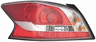 Go-Parts - OE Replacement for 2014 - 2015 Nissan Altima Rear Tail Light Lamp Assembly / Lens / Cover - Left (Driver) Side 26555-9HM0A NI2800203 Replacement For Nissan Altima