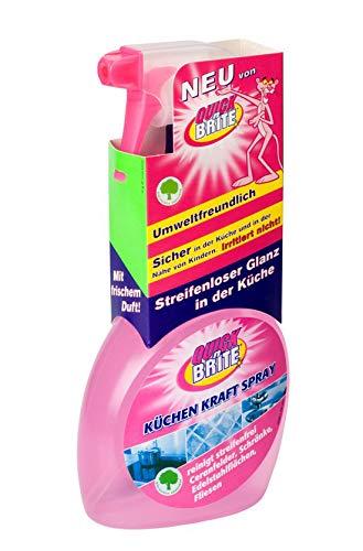 Quick 'n Brite Küchenreinigungsspray 3X 500 ml Küchen Kraft Spray - Der umweltfreundliche und sparsame Reiniger für Ihre Küche