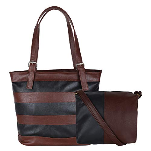 don cavalli Women's Handbag (DC_006_Black & Brown)