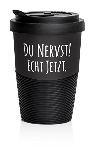 "Pechkeks Coffee to go Becher""Du nervst!\"""