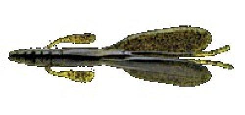 ノリーズ(NORIES) ワーム エスケープツイン 4-1/2インチ 105mm ウォーターメロン ブラックFlk. #004 4140