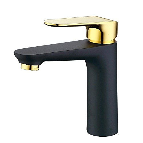 Find Bargain Modern Simple Brass Constructed Polished Hot And Cold Basin Sink Faucet Bathroom Sink F...
