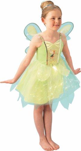 Rubie's-déguisement officiel - Disney- Costume Disney Fairies Light up Jupe avec Fibres Optiques - Taille M- I-883766M