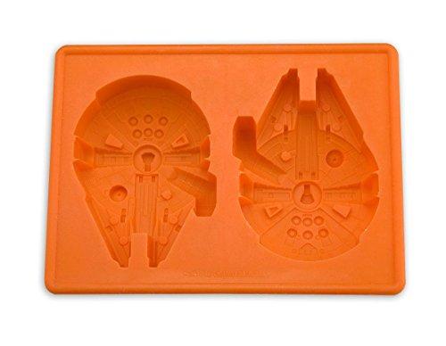 Star Wars Millennium Falcon Eiswürfelform und Backform - aus Silikon