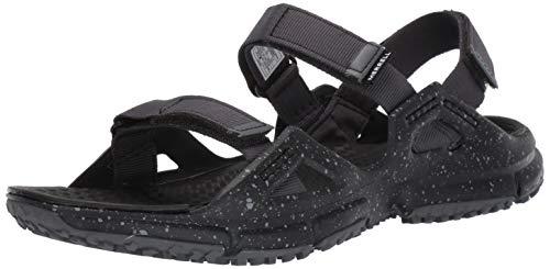 Merrell Men HYDROTREKKER Strap Hiking Sandals, Black, 10 UK