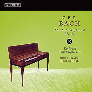 C.P.E. Bach: Solo Keyboard Music, Vol. 40