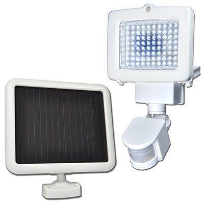 lampes solaires à détecteur de mouvements Sunforce Products 82080 80 LED solaire Flood Light