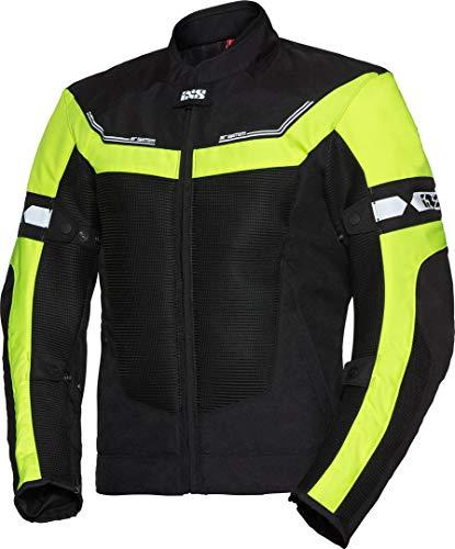 IXS Sport Levante-Air 2.0 Giacca moto in tessuto Nero/Neon/Giallo 3XL