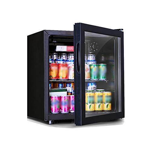 LYGACX Vino Frigorífico, de Alta Capacidad Vino Frigorífico, Independiente del refrigerador de Vino, Negro Caja de Almacenamiento de Bebidas Refrigerador Calidad Bar Nevera Temperatura Constante,B