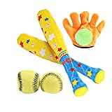 TrifyCore Kinder-Baseballschläger Outdoor Sport Team-Arbeit Toy Baseball-Set Best Interactive Spiel für Kinder und Erwachsene 1PC