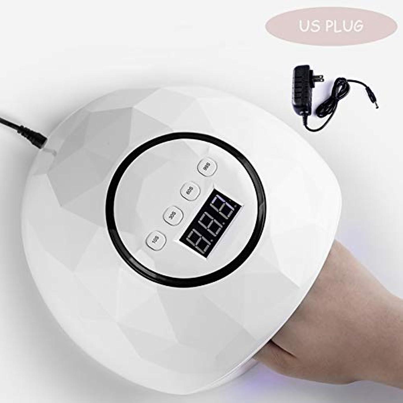 バーチャル刺繍ガレージchangchunST ネイルドライヤー 硬化用UVライト LEDダブルライト 72W新型 24ランプビーズ ネイルランプ インテリジェント誘導 赤外線検知 硬化用 マニキュア レジンにも便利