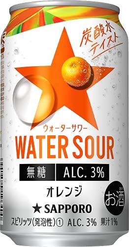 サッポロ WATER SOUR オレンジ 〔チューハイ 350ml×24本〕