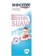 Rhinomer Baby, Spray Nasal, 100% Agua de Mar de Origen Natural, Fuerza Extra Suave para Bebés, 115 ml