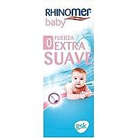 Rhinomer Baby - Spray Nasal 100% Agua de Mar de Origen Natural - Fuerza Extra Suave para Bebés - 115 ml