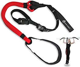 INTENT SPORTS Pull Up Assist Band System - Chin Up Free Workout eBook! - High-Performance Assist Bands - Resistance Bands - Get Lean and Stronger - for Crossfit or Any Workout Program (Patented)
