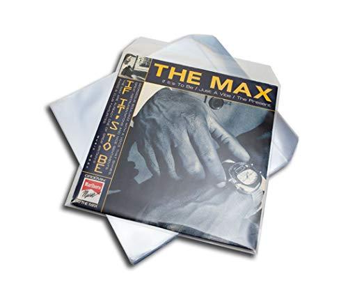 LP Schallplatten Schutzhüllen mit Klappe Premium Protected (50 Stück)