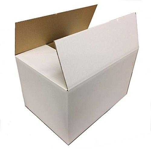 120サイズ 表が白いダンボールSA120×1枚 455mm×315mm×280mm 4.5mm厚 ギフト配送などの見た目を気にする際の梱包に最適