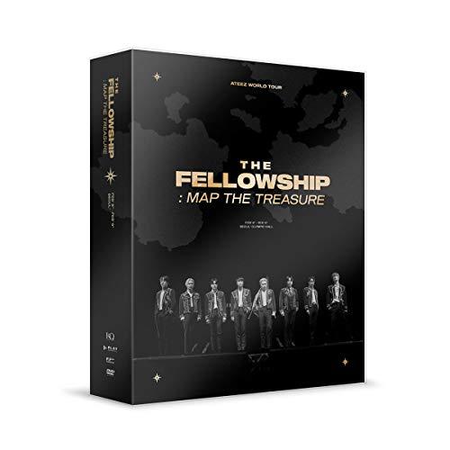 ATEEZ – ATEEZ World Tour The Fellowship: MAP The Treasure Seoul DVD+juego de...