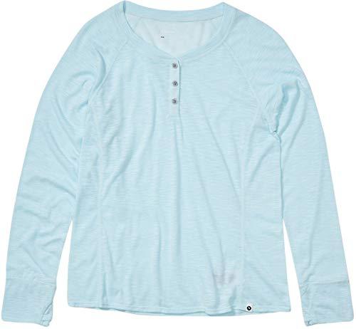 Marmot MT Shasta T-Shirt à Manches Longues pour Femme Corydalis Blue Heather, XL