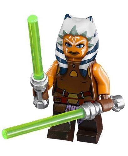 LEGO Star Wars - Minifigur Ahsoka Tano (sw452) + 2 Laserschwerter