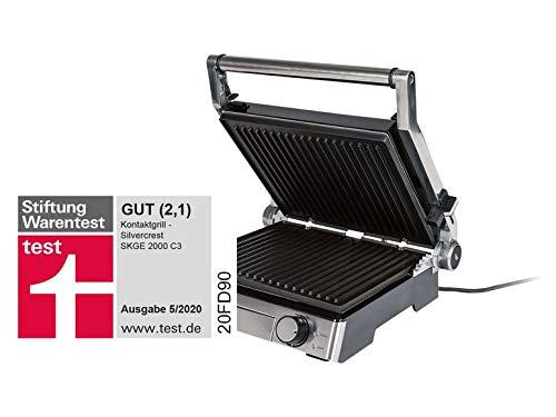 MultiGrill SKGE 2000 C3 Elektro-Grill Elektro Grill Tischgrill Kontaktgrill...