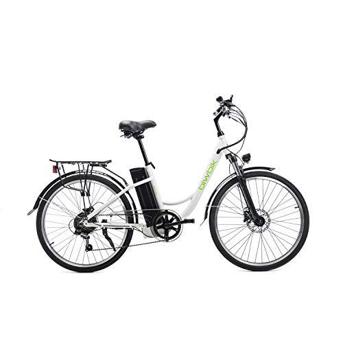 BIWBIK Bicicletta elettrica Sunray (bianco)
