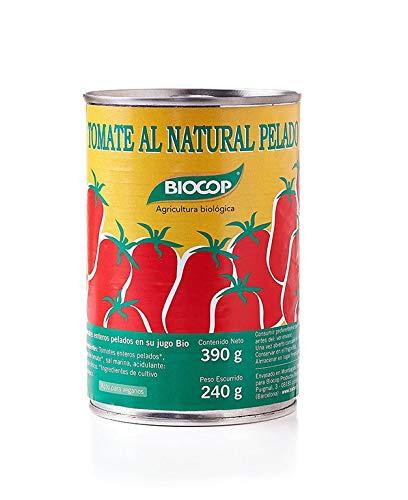 BIOCOP Tomate PELADO 390 G, Negro, Estandar