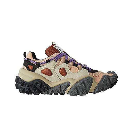 Acne Studios Women's Technical Sneakers (EU 40) Beige/Grey
