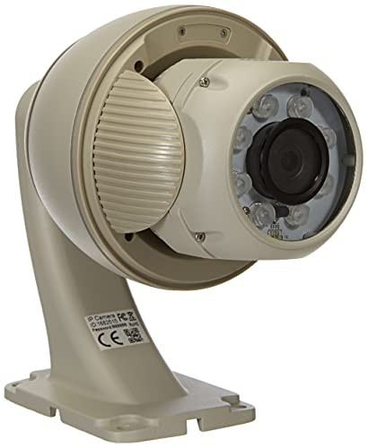 Sricam SP008-B - Cámara de vigilancia Externa WiFi/Ethernet, Impermeable, IP 720P, 1 Unidad, 12 V, Color Blanco