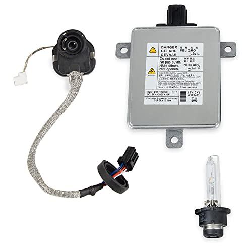 HID Xenon Ballast And Igniter D2S Bulb Compatible With Acura TL / TL - S TSX ILX RDX MDX ZDX CSX Honda S2000 Jazz CR-V CR-Z Odyssey Mazda 3 5 CX-9 Replace W3T15671 W3T16271 W3T19371