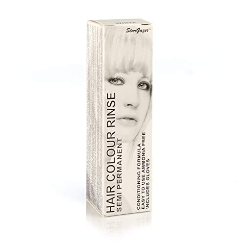Stargazer Products Weiß Semi-Permanentes Haarfärbemittel, 1er Pack (1 x 70 ml)