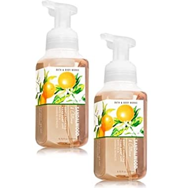 Bath and Body Works 2 Pack Sandalwood & Citrus Gentle Foaming Hand Soap 8.75 Oz.