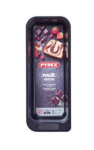 Pyrex Magic Molde Para Horno, Acero Inoxidable, Negro, 26 cm