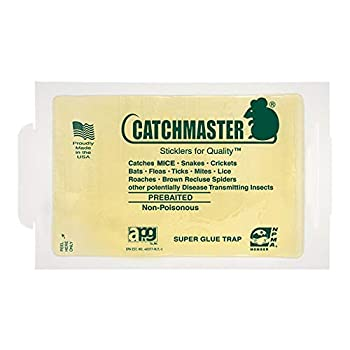 30 Catchmaster Mouse / Spider / Insect / Scorpion Glue Board Sticky Traps ~ Peanut Butter Scent