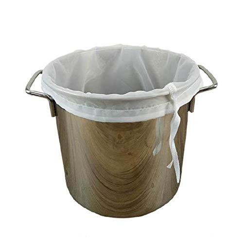 YJFENG Bolsa De Leche De Nuez, Grado Comercial Reutilizable Filtro De Café Frío, Colador De Malla Fina Estopilla De Nylon para Colar La Avena, Vino (Size : 25x25cm)