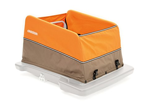 Croozer Unisex Jugend Fahrradanhänger-3092022030 Fahrradanhänger, orange/Grey, One Size