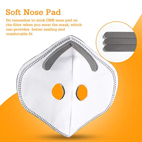 AstroAI Face Mask with Filters – Reusable Washable Adjustable Face Mask for Running, Cycling, Outdoor Activities(1 Mask…