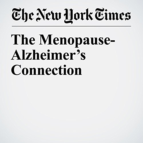 The Menopause-Alzheimer's Connection copertina