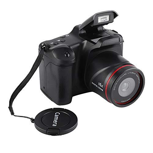 Vbestlife Cámara de Video 720P HD Pantalla 2.4 Pulgadas 16 MP Videocamara Digital con Tarjeta de Memoria de 32 GB Visión Nocturna Zoom Digital 16X para Tomar Fotos.
